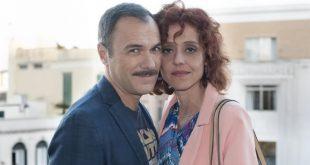 Massimiliano Gallo e Vanessa Scalera in uno scatto per Imma Tataranni-Sostituto Procuratore. Foto dal Web