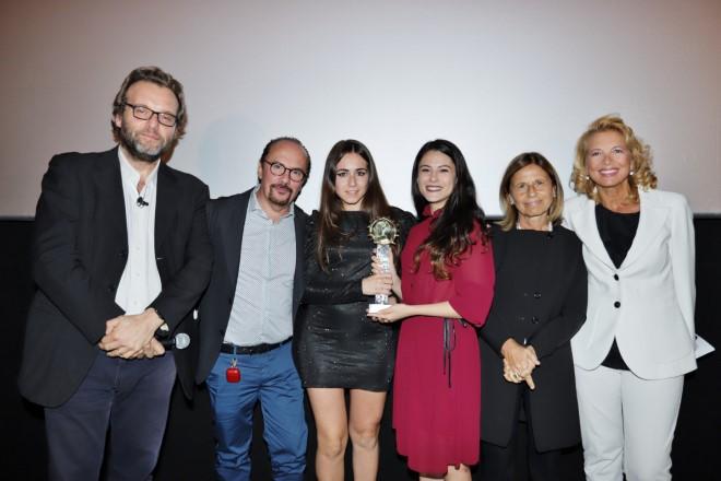 Premiazioni serata dei corti Gala del Cinema e della Fiction in Campania 2019 con Maurizio Casagrande
