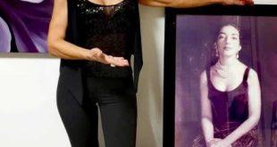 Rosalba Colosimo con una foto di Flavia