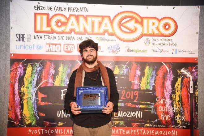 Simone Romano vince il Cantagiro 2019