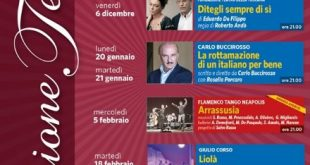 Teatro Ariston Gaeta, stagione teatrale 2019-20