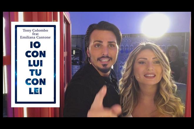 Tony Colombo ed Emiliana Cantone a Pomeriggio 5