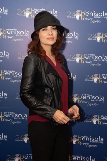 Vanessa Gravina per il Premio Penisola Sorrentina 2019. Foto Di Benedetto