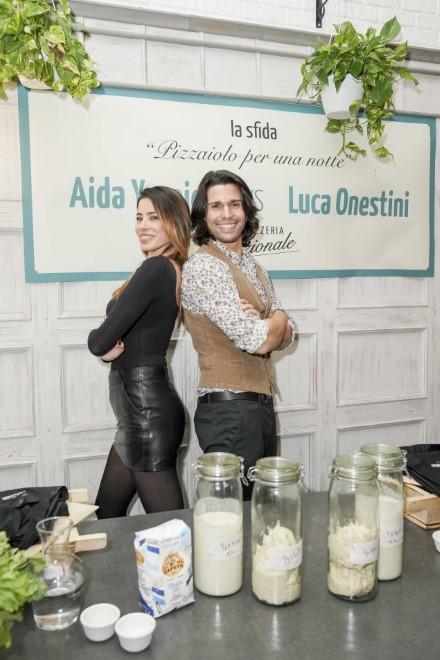 Aida Yespica e Luca Onestini in sfida