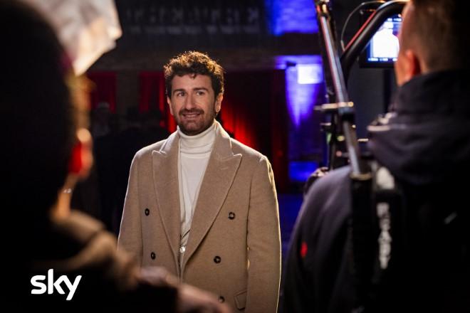 Alessandro Siani in Stasera Felicità su Sky. Foto di Roberto Panucci