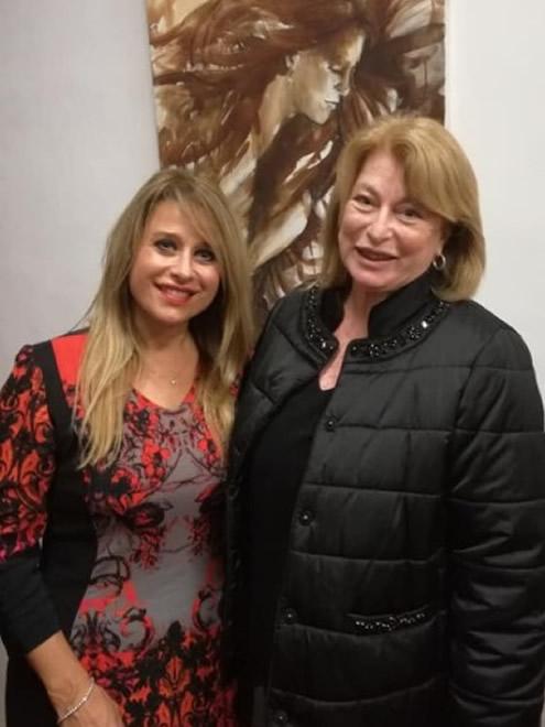Barbara Latini ed Elisabetta Rogai al Palio di Siena
