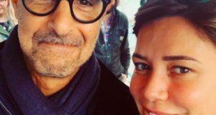 Camilla Ferranti e Stanley Tucci. Foto da Ufficio Stampa