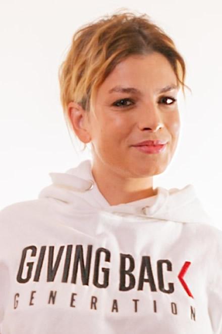 Emma Marrone per Giving Back Generation