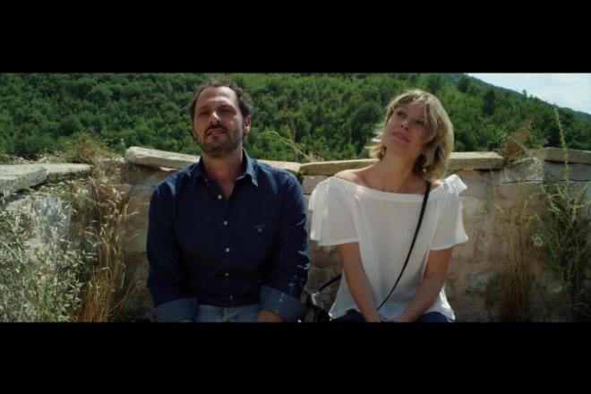 Fabio Troiano ed Euridice Axen in una scena di Nati 2 volte