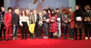 Gianni Testa e i vincitori di Area Sanremo