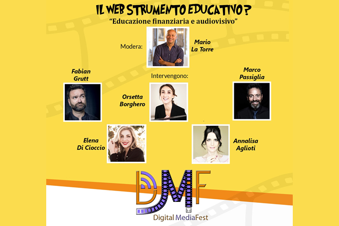 Il Web come strumento educativo al Digital Media Fest 2019