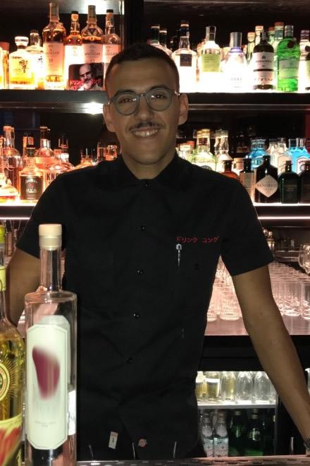 Il barman Alessio Zaccardo