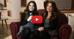 Le gemelle Bianca e Chiara D'Ambrosio per La Gazzetta dello Spettacolo - Video