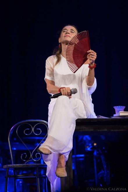 Lina Sastri. Foto di Foto Valdina Calzona