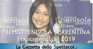Ludovica Nasti per il Premio Penisola Sorrentina 2019 - Interviste