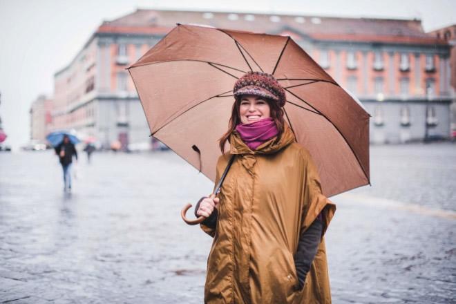 Monica Sarnelli a Napoli. Foto di Alessandro Pone