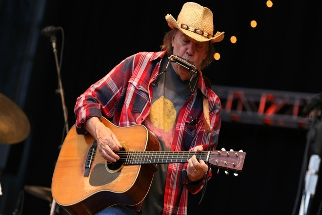 Neil Young. Foto dal Web