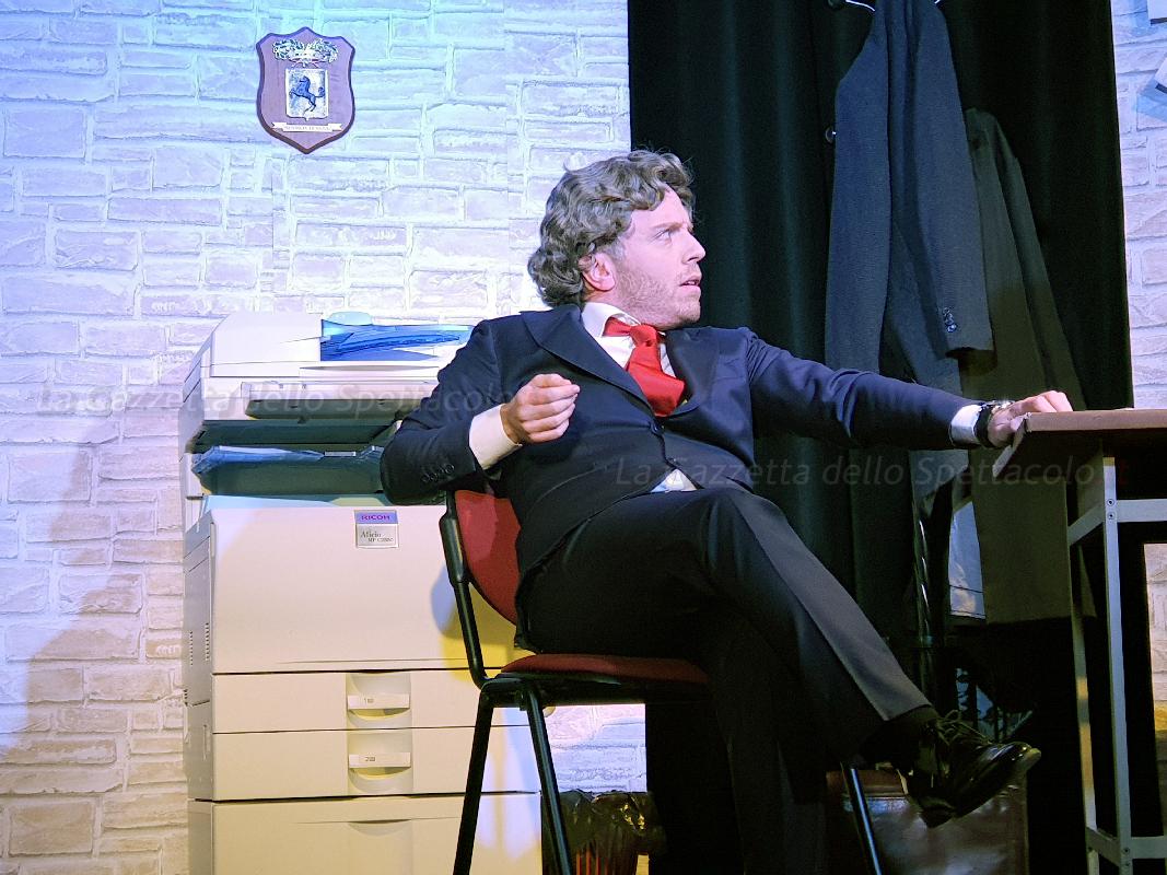 Pasquale Palma in uno dei personaggi di Chi ha ucciso il morto