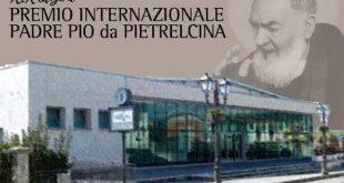 Premio Padre Pio da Pietralcina 2019