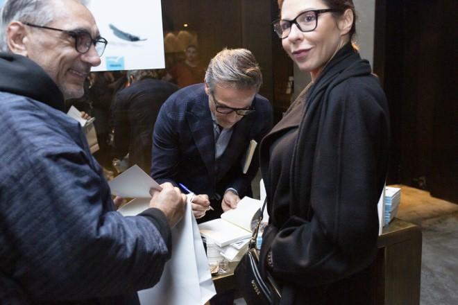 Saverio Palatella, Alessandro Romito e Luna Berlusconi. Foto di Tatiana Benedetti