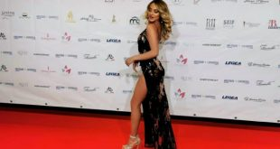 Tanya La Gatta sul red carpet di Miss Europe Continental