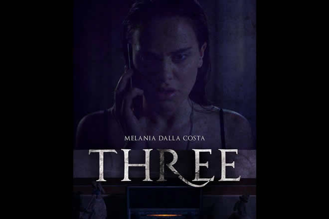 Three, il cortometraggio di Alberto Bambini con Melania Dalla Costa
