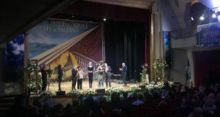 Un momento della serata di Gala del Festival Internazionale del Cinema di Salerno