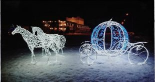 Villaggio di Babbo Natale. Foto dal Web