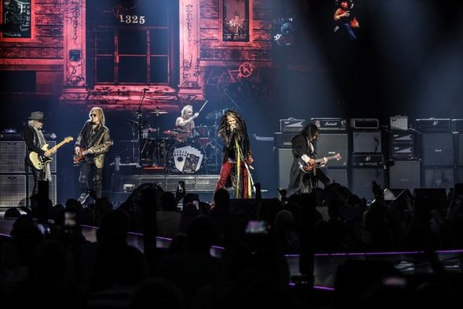 Aerosmith. Foto di Zack Whitford