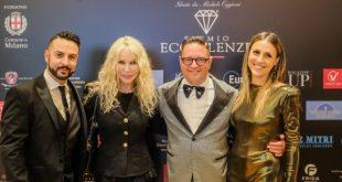 Anthony Peth, Ivana Spagna, Michele Oggioni, Barbara Epis. Foto di Paolo Biava