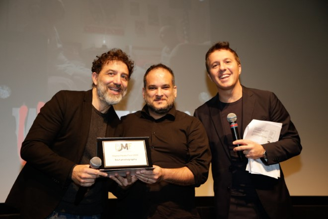Daniele Bonarini vince al Digital Media Fest