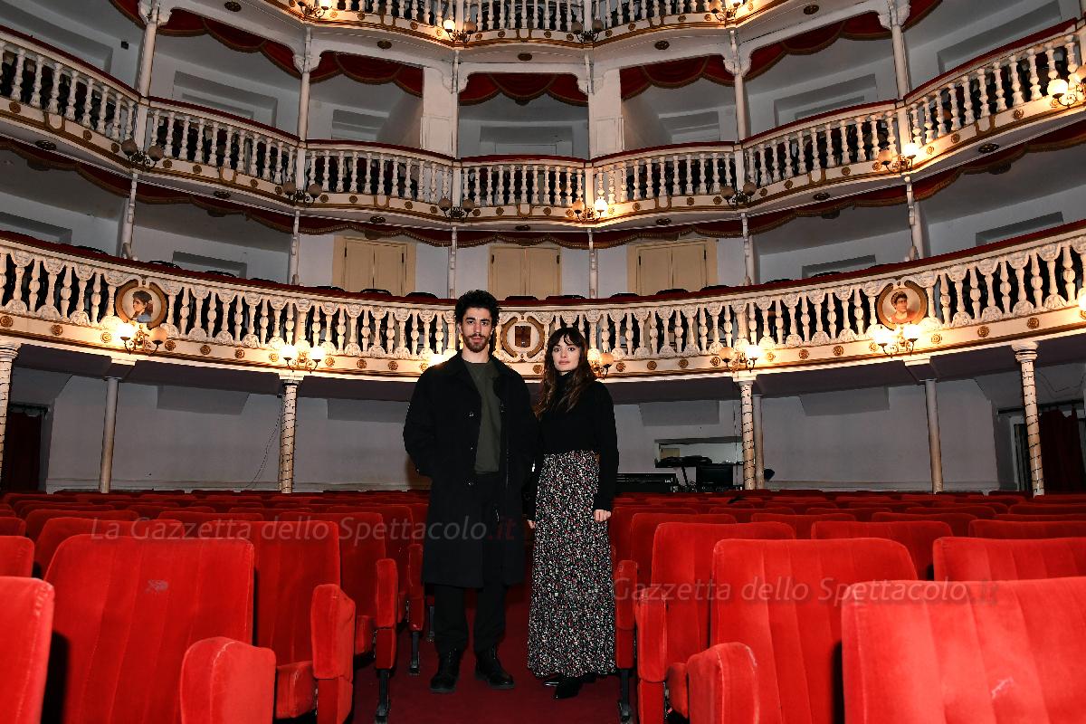 Denise Capezza ed Edoardo Scarpetta per After The End al Sannazzaro