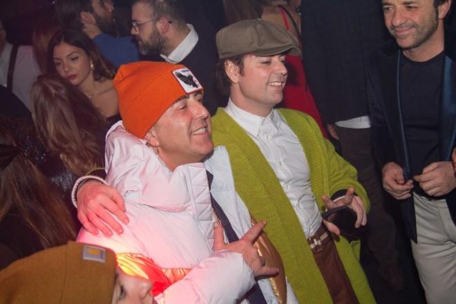 Franco Ricciardi e Ivan Granatino al party