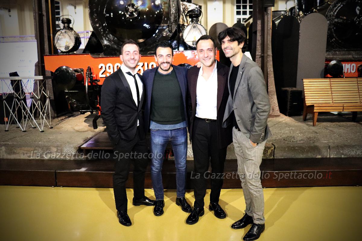 Gigi e Ross con Francesco Cicchella e Enzo De Honestis