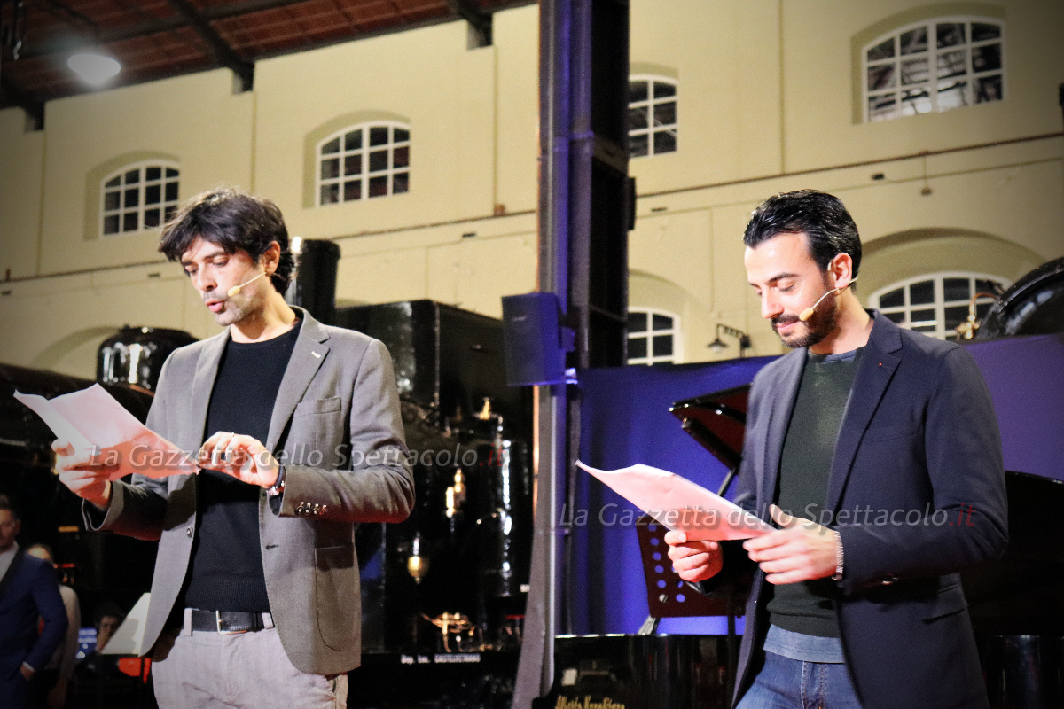 Gigi e Ross sul palco