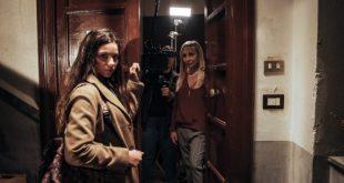 Giorgia Agata ed Ester Gatta sul set di Nina e Il Cielo. Foto di Martina Esposito