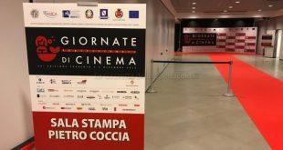 Giornate del Cinema di Sorrento 2019. La sala stampa dedicata a Pietro Coccia.