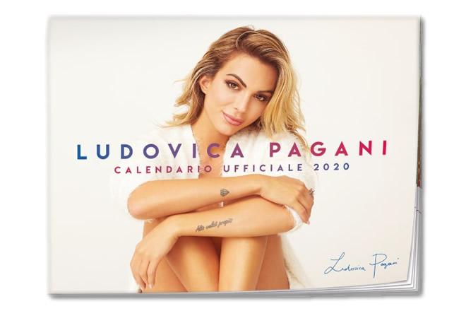La copertina autografata del Calendario 2020 di Ludovica Pagani