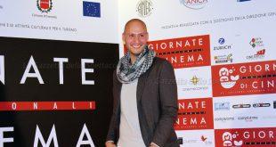 L'attore e regista Fabio Massa alle giornate professionali di cinema di sorrento per Mai per sempre