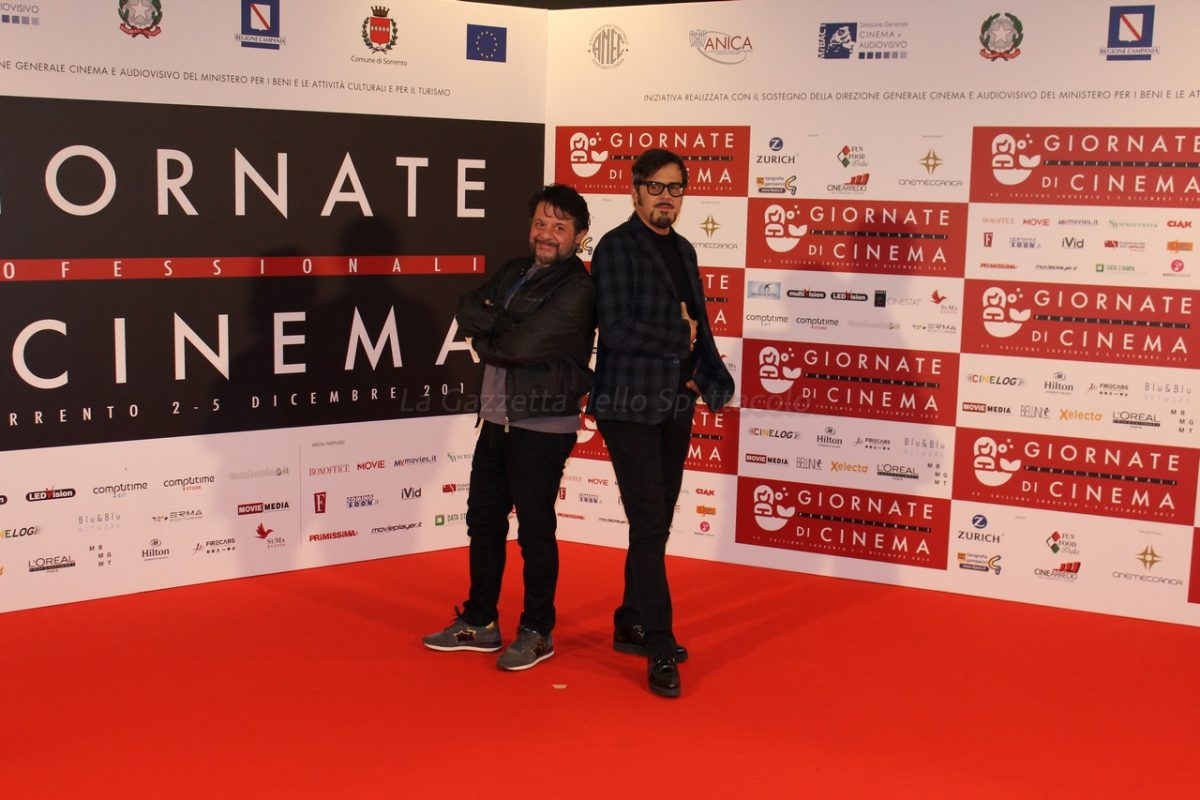Lillo e Greg presentano DNA alle Giornate di Cinema
