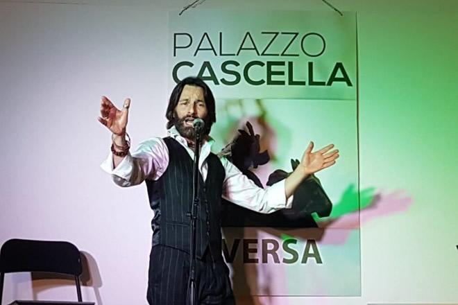 Massimo Masiello live a Palazzo Cascella. Foto di Giancarlo Cantone