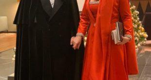 Pasquale Lettieri e Letizia Bonelli alla Tosca della Scala di Milano 2019. Foto da Ufficio Stampa
