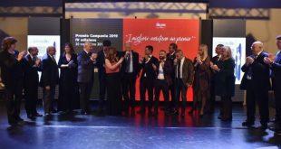 Premio Campania 2019 - Mimmo Falco con Giornalisti