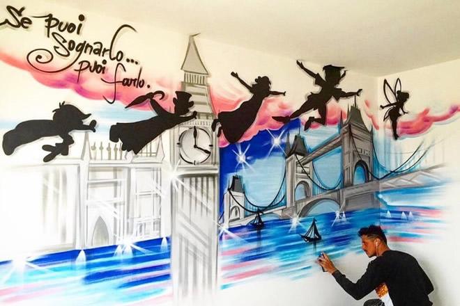 Raffo Art - Se puoi sognarlo puoi farlo. Foto da Facebook