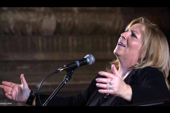 Antonella Morea. Foto di Luigi Vaccaro