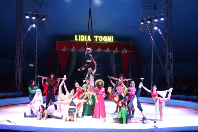 Circo Lidia Togni in The dreamer