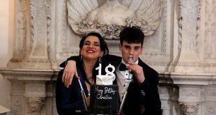 Claudia Letizia per il 18esimo del figlio Christian. Foto di Francesco Peluso e Paolo De Matteo.