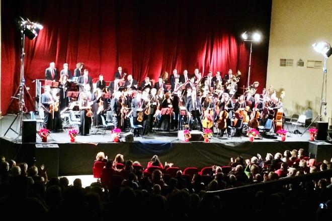 Concerto di Capodanno della Nuova Orchestra Scarlatti. Foto di Raffaele Esposito
