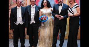Il cast del Concerto di Capodanno al Teatro Delle Palme