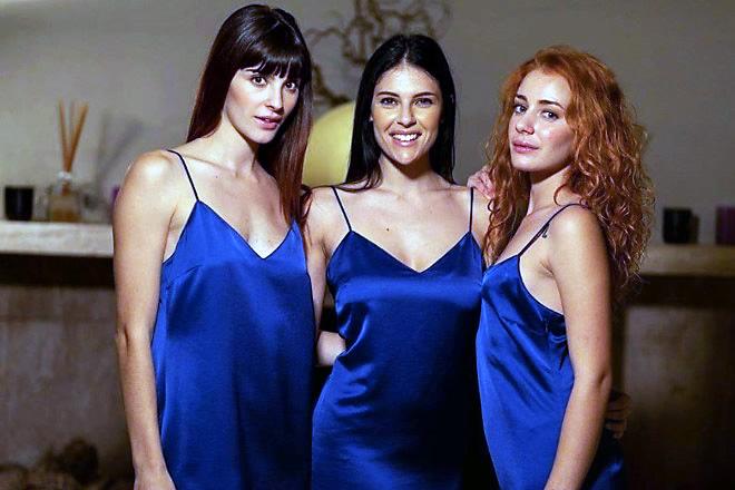 Miss 365 dell'Anno 2020. Le tre finaliste da Sinistra Beatrice Scolletta,al centro Rebecca Puci e a destra Margot Truffa